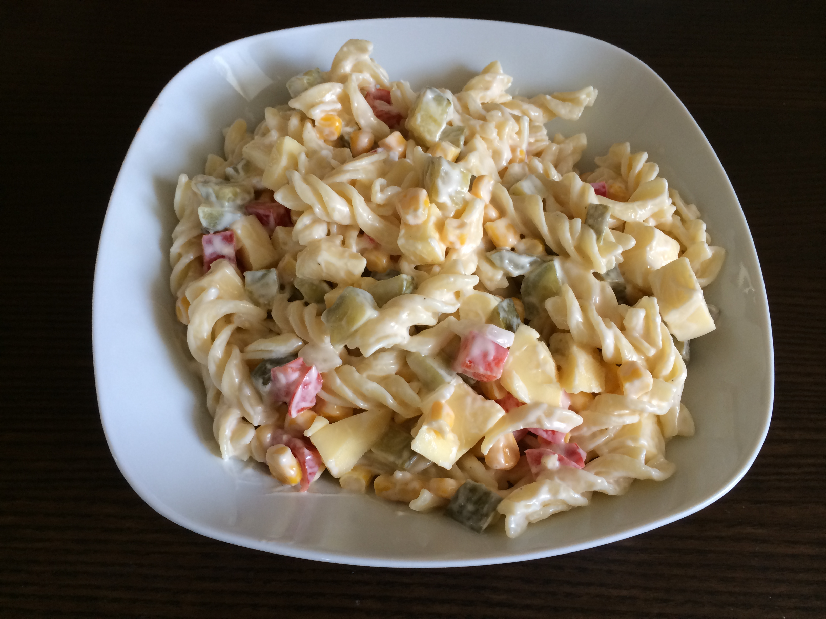 nudelsalat mit miracle whip
