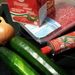 Spaghetti Bolognese Zutaten