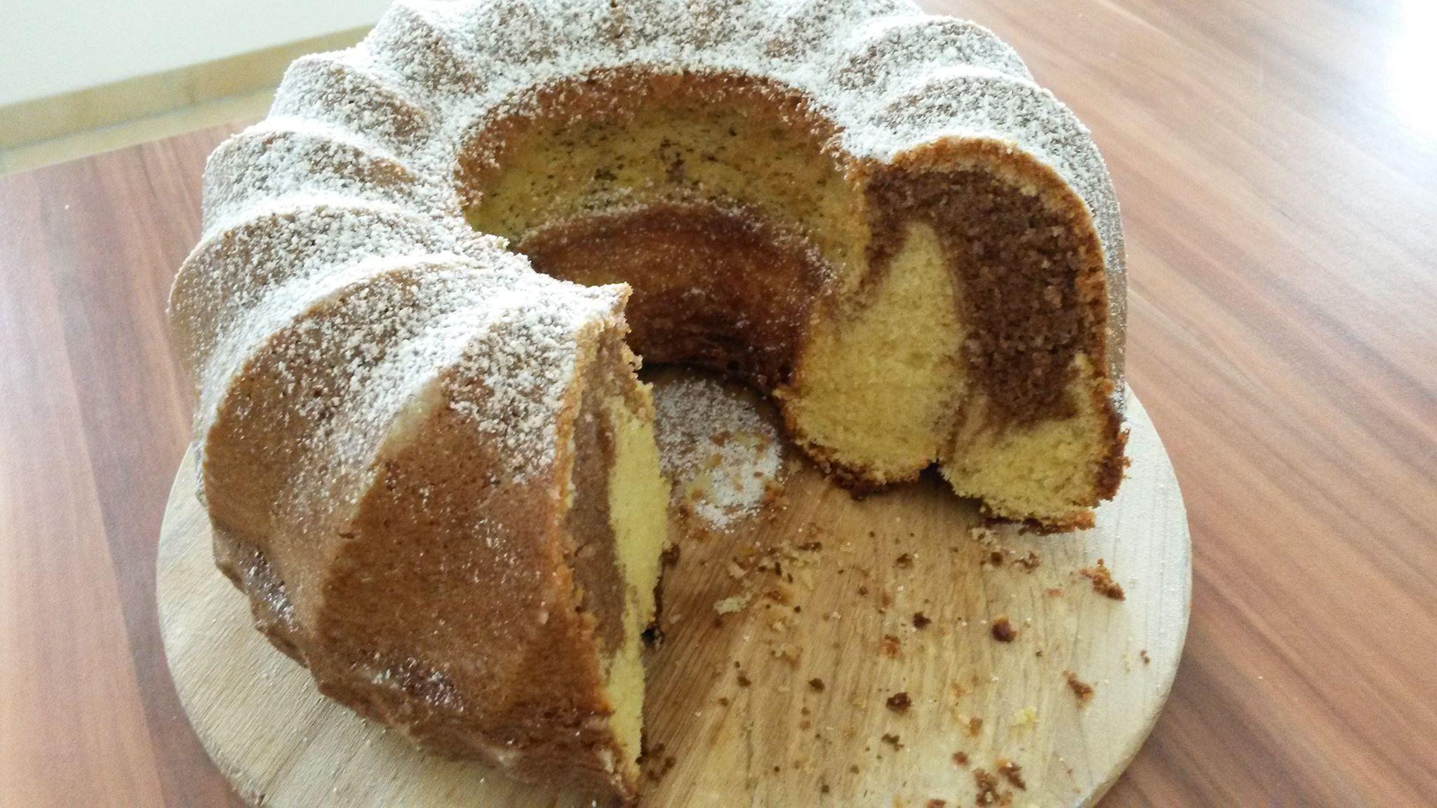 Marmorkuchen mit Eierlikör und Nutella