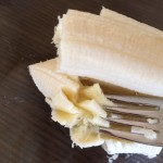 Banane zerquetschen