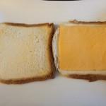 Toastbrot mit Käse