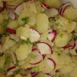 Kartoffel Radieschen