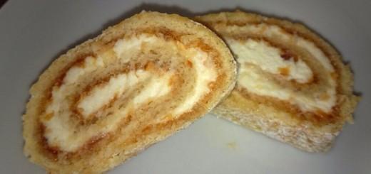 Marillen-Kokos-Roulade