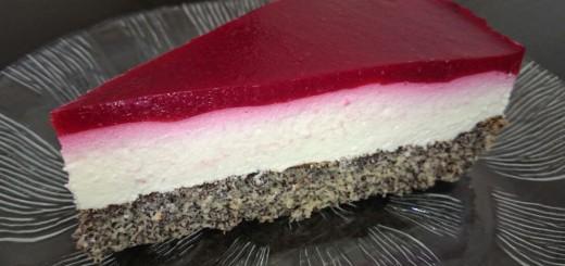 Himbeer-Mohn-Torte