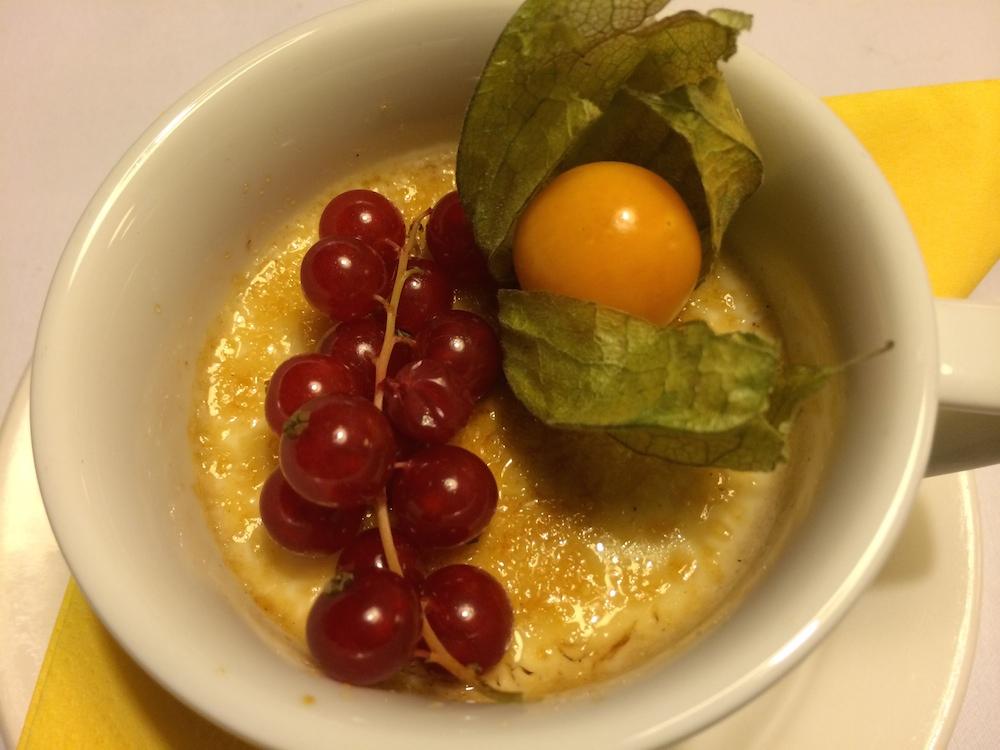 Lebkuchen Crème brüele