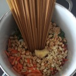 One Pot Peanut Thai Pasta