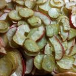 Kartoffel–Äpfel-Tarte