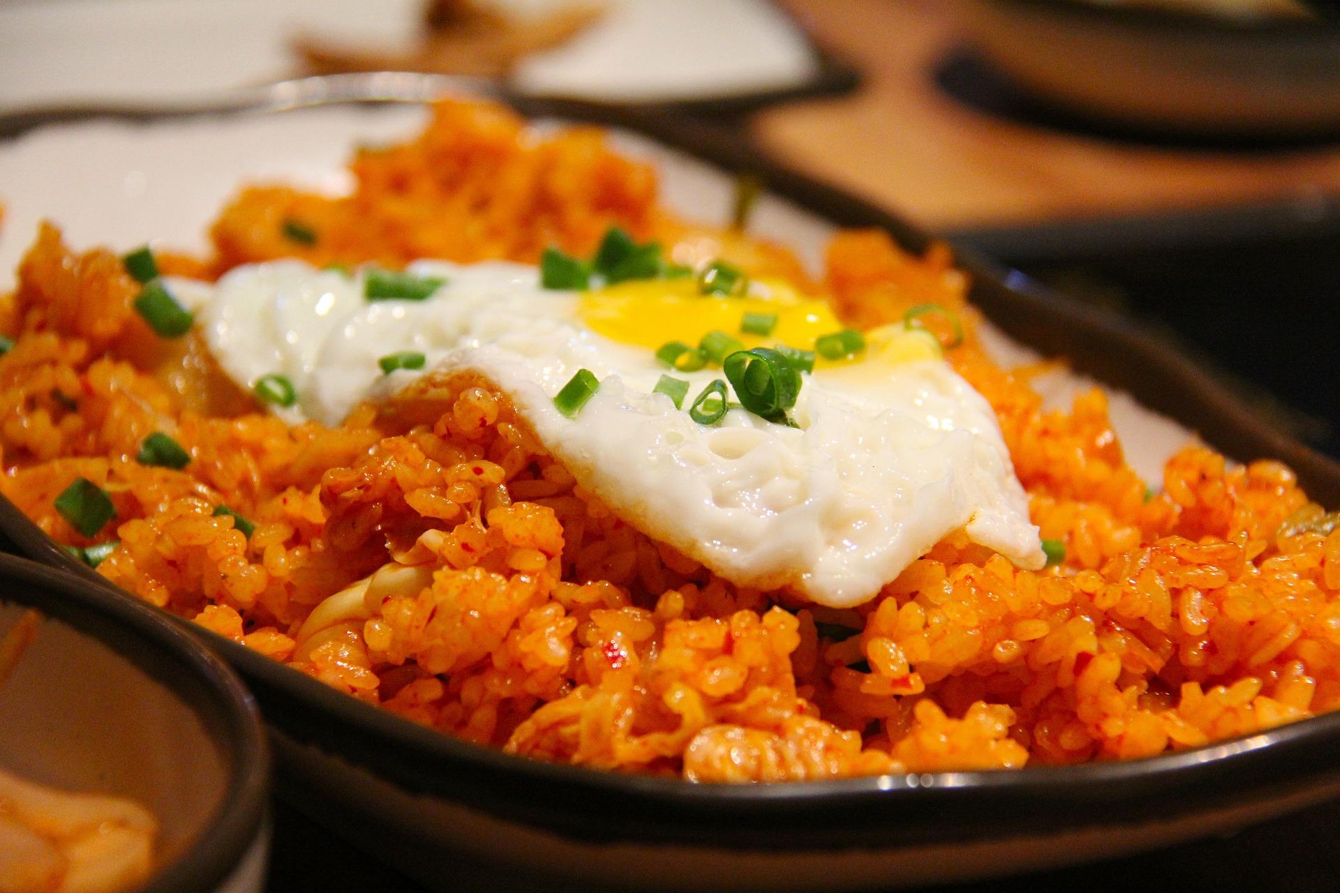 Kimchi-Reis