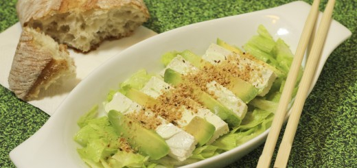 Avocado-Schafkäse-Salat