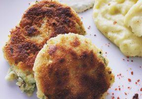Kartoffel-Gemüse-Laibchen