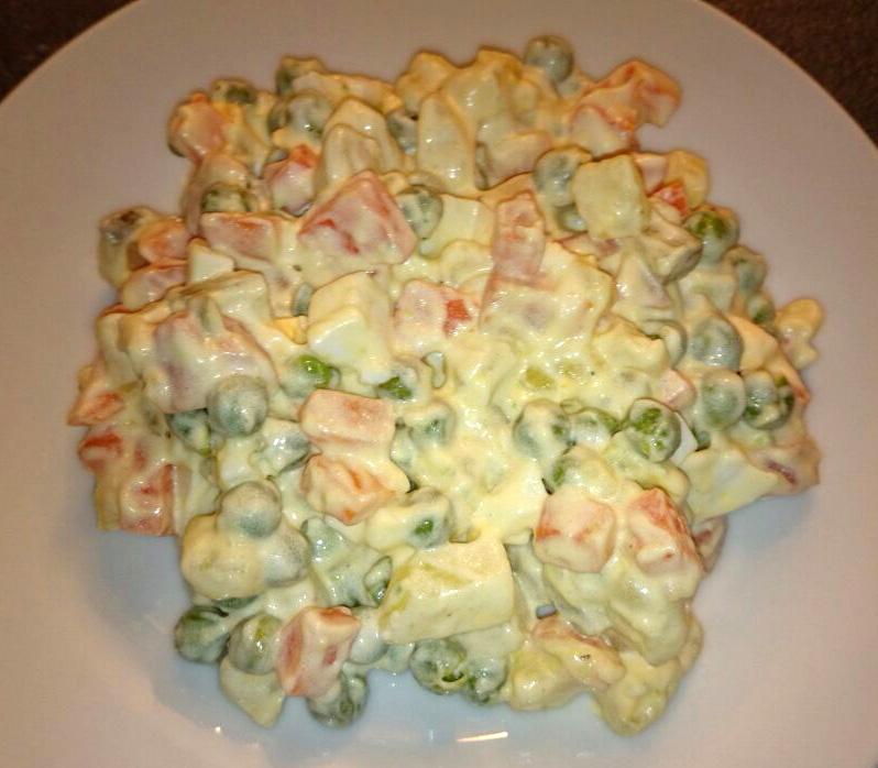 Russischer salat - Eier hart kochen dauer ...