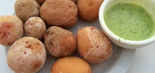 Kartoffeln mit Mojosauce