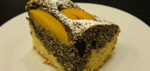 Pfirsich-Mohn-Kuchen