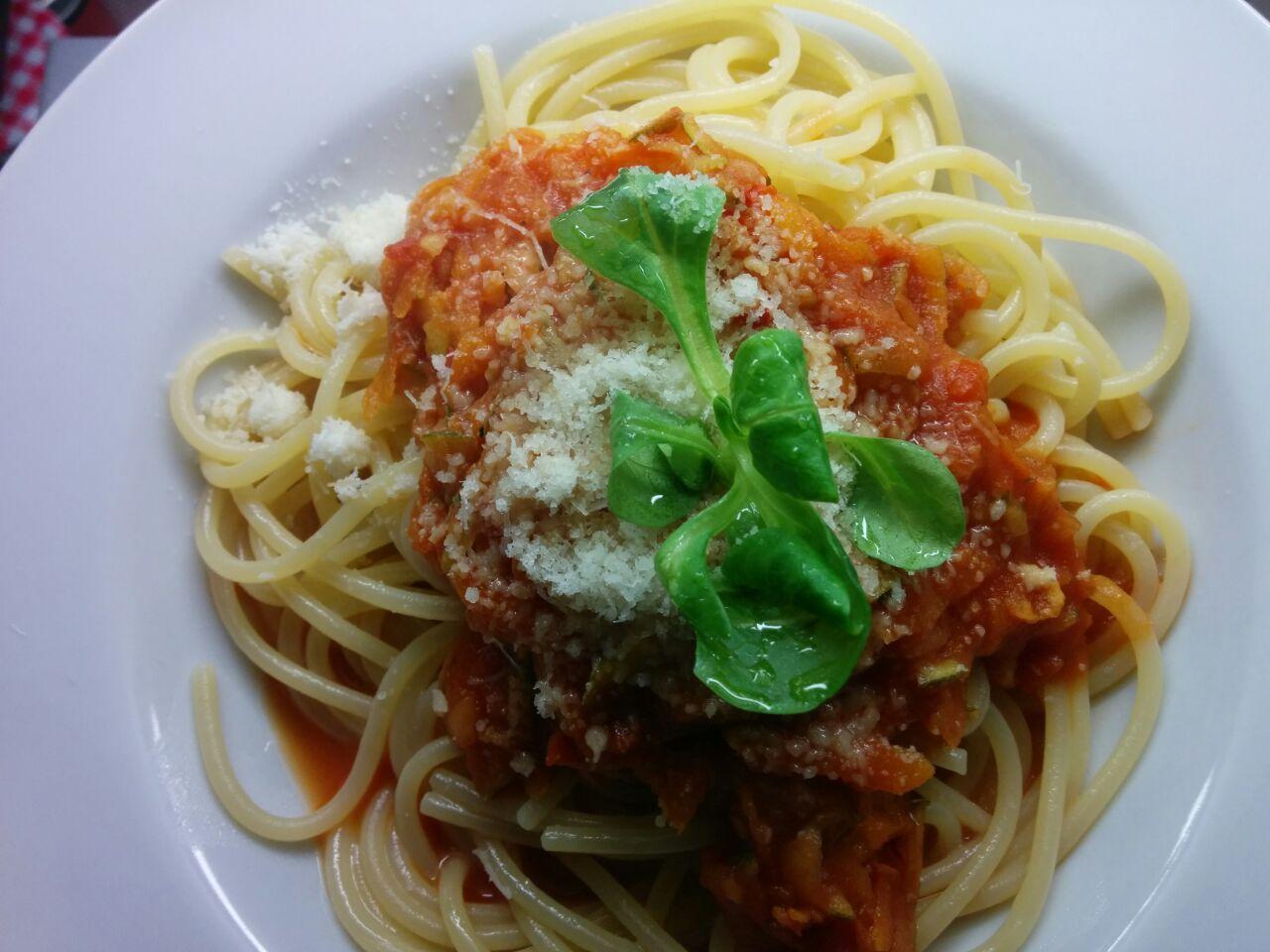 Karotten-Zucchini-Spaghetti