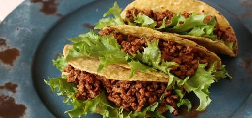Taco mit Rindfleisch