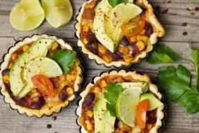 Mexikanische Blätterteig-Tarte