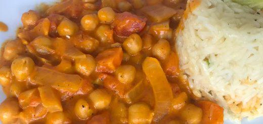 Kichererbsen-Kokos-Curry